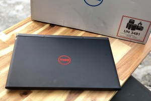 Laptop Dell Gaming 7567, i7 7700HQ 8G SSD128+1T Vga GTX1050ti Full HD Còn BH Hãng 5/2019